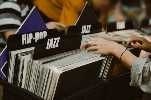 Vinyl records are on the rise