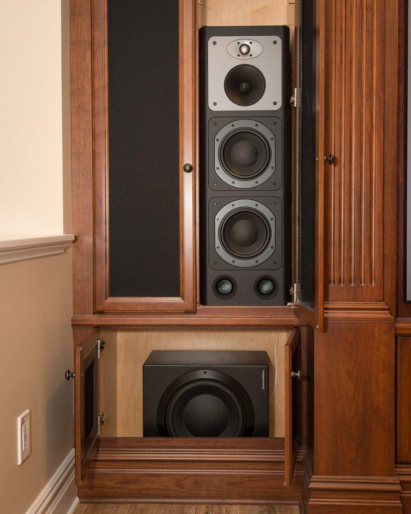 AVS Hidden Speakers