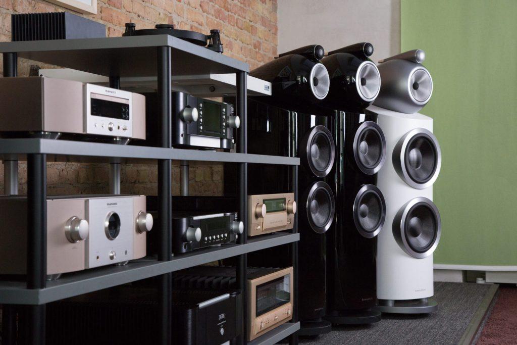 Similar system enjoyed at a listening party