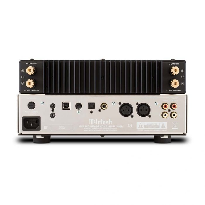McIntosh Labs  MHA150 Amplifier