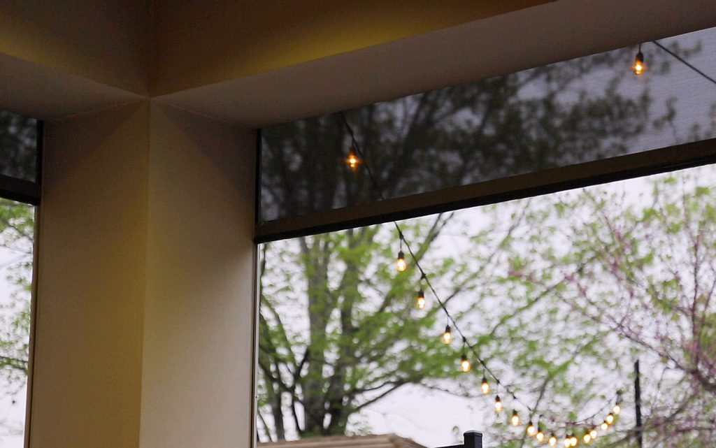 Outdoor shades from Screen Innovations